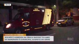Mulher é agredida na Praça Raposo Tavares, ex-namorado é o principal suspeito do crime