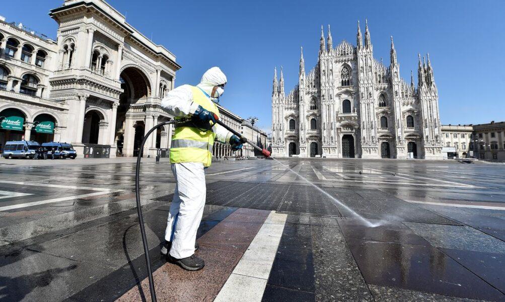 Itália registra 4.717 casos de covid-19 em 24h