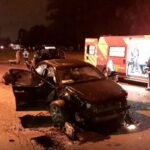 Homem morre após ser ejetado de veículo durante capotamento em Curitiba