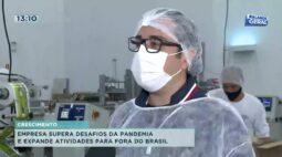Empresa supera desafios da pandemia e expande atividades para fora do Brasil