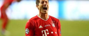 Lewandowski se machuca e vira preocupação no Bayern de Munique
