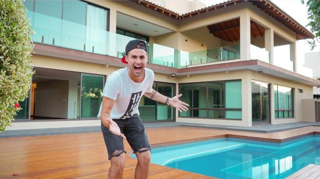 Youtuber Rezende vai morar em casa avaliada em R$4 mi, em Londrina