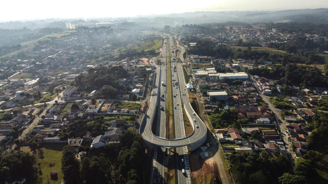 Novo viaduto na BR-277 é inaugurado nesta segunda (3), em Campo Largo