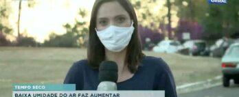 Baixa umidade do ar faz aumentar problemas alérgicos e respiratórios