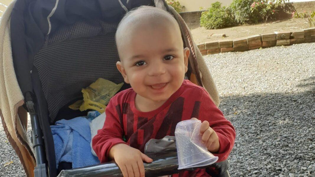 Criança de um ano tem síndrome rara e família de Cascavel precisa de ajuda