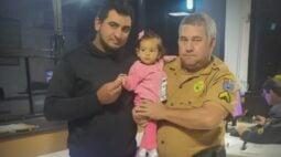 Policial militar rodoviário salva a vida de bebê na RMC
