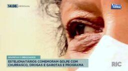 Golpistas e debochados: estelionatários comemoram golpe com churrasco, drogas e garotas de programa