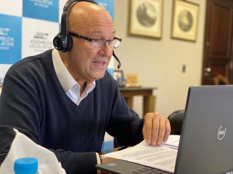 Deputado estadual Luiz Claudio Romanelli é diagnosticado com covid-19