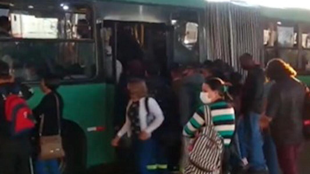 Vídeo: Aglomerações em terminais marcam 29º dia de paralisação do transporte coletivo em Ponta Grossa