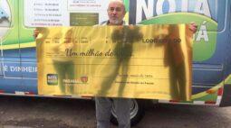 Aposentado é premiado com R$ 1 milhão no Nota Paraná