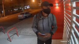 Imagens mostram suspeito de cometer crimes contra homossexuais em Curitiba; assista
