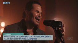Novo clipe de Eduardo Costa gera polêmica, mas é sucesso de visualizações