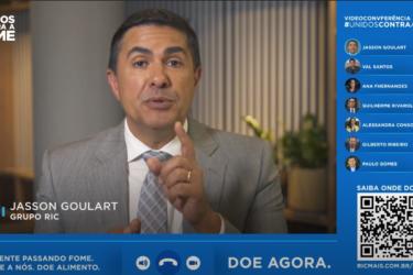Vídeo com apresentadores das grandes emissoras do Paraná destaca a importância da campanha Unidos Contra a Fome