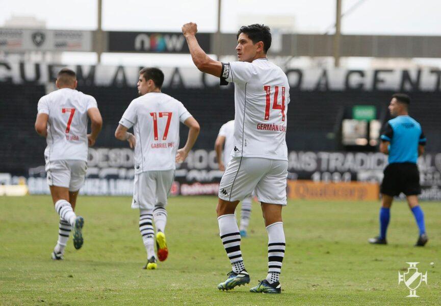 Vasco vence o Botafogo no primeiro jogo da final da Taça Rio