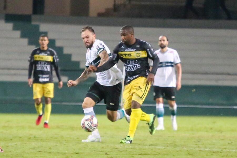 Coritiba perde a primeira em casa para o FC Cascavel