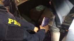 PRF apreende 80 kg de maconha após perseguição, em Santa Terezinha de Itaipu