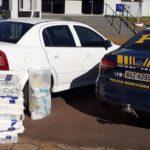 Motorista de aplicativo é detido transportando maconha, em Santa Tereza do Oeste