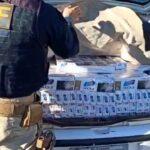 PRF apreende carro lotado de cigarros contrabandeados no Oeste do Paraná