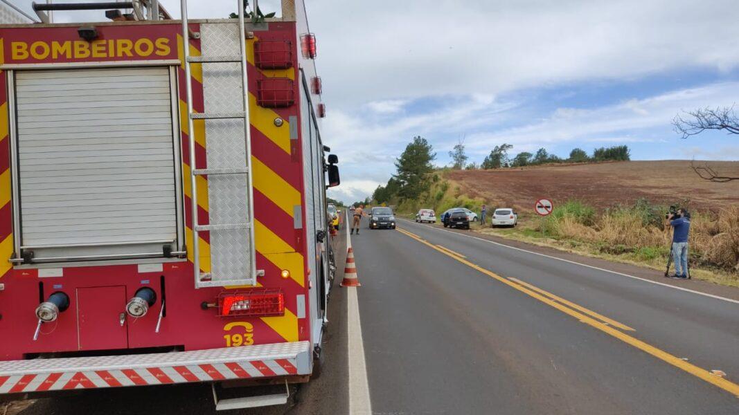 Motociclista morre após acidente grave na PR-445, próximo a Tamarana