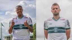 Coritiba apresenta o zagueiro Henrique e o atacante Willian Alves