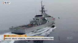 Fato ou Fale? É verdade que militares podem usar equipamento e voar até outro navio?