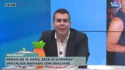 Zezé Di Camargo oficializa noivado com Graciane depois de dez anos de relacionamento
