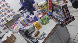 Suspeito de furtar loja de brinquedos é preso em Curitiba