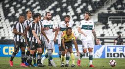 Coritiba entra com pedido de impugnação da partida contra o Botafogo no STJD