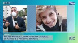 Mulher morre baleada no Santa Cândida; ex-marido é o principal suspeito