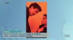 Novo clipe de Luan Santana é aposta para carreira internacional
