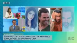Eduardo Costa teria investido em Andressa Suita após separação