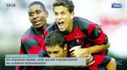 Ex-jogador morre após bater contra poste na Avenida Morangueira