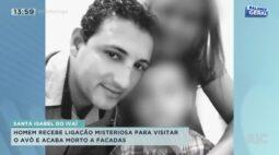 Homem recebe ligação misteriosa para visitar o avô e acaba morto a facadas em Santa Isabel do Ivaí