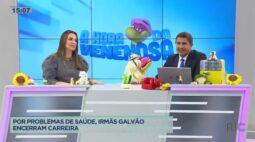 Irmãs Galvão encerram carreira devido a problemas de saúde