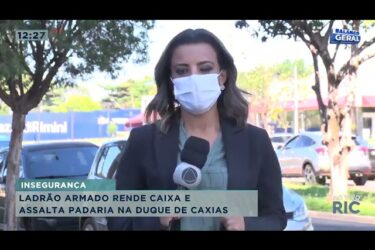 Ladrão armado rende caixa e assalta padaria no centro de Londrina