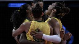 Brasil vence Turquia e encerra fase classificatória da Ligas das Nações em segundo