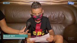 """""""Cuidado nessa mata""""; criança escreve carta para pai policial que está na caçada por Lázaro"""
