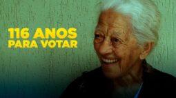 116 anos: eleitora mais velha do Brasil mora em Londrina e a gente pode provar