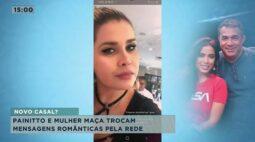 Painitto e Mulher Maçã trocam mensagens românticas pela rede