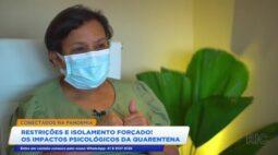 Pandemia: impactos psicológicos causados pelas restrições e pelo isolamento social forçado