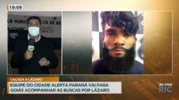 A equipe do Cidade Alerta Paraná está em Goiás e tem novidades sobre caso Lázaro