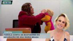 Johnny Lucet não sabia de término de casamento com Ana Maria Braga