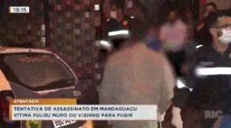 Tentativa de assassinato em Mandaguaçu, vítima pulou muro do vizinho para fugir