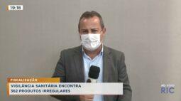 Vigilância sanitária encontra 362 produtos irregulares