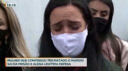 Sai da cadeia mulher que confessou ter matado o marido há 2 anos