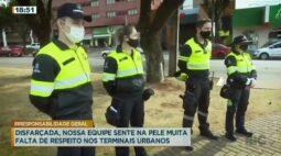 Apresentador do Cidade Alerta é desafiado e vive dia de agente de transporte público