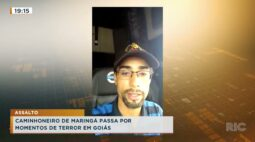 Caminhoneiro de Maringá passa por momentos de terror em assalto em Goiás