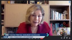 Paraná quer vacinar público geral com mais de 18 anos até dezembro