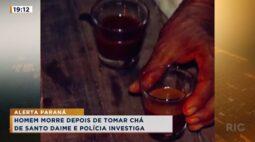 Homem morre depois de tomar chá de Santo Daime e polícia investiga