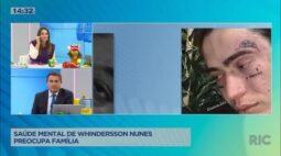 Saúde mental de Whindersson Nunes preocupa família